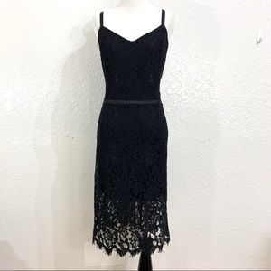 Simply Styled Black Lace Tank Dress Bodycon Style
